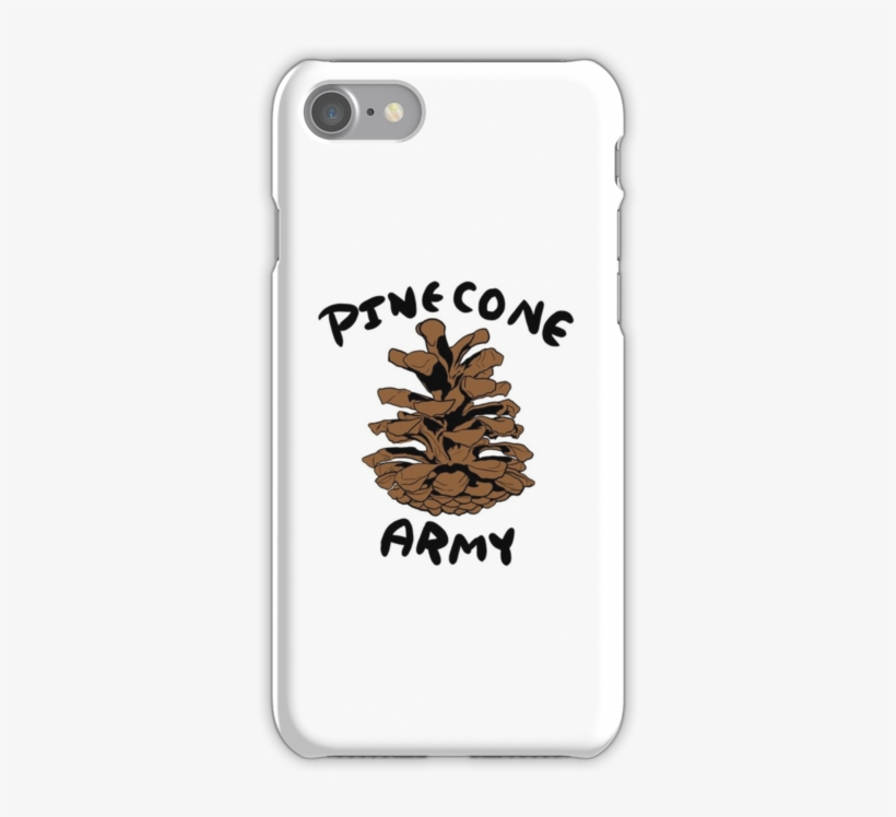 Pinecone Army Symbol By Blazing Spirit - Billie Eilish Phone Cases Iphone 7, transparent png #8479904