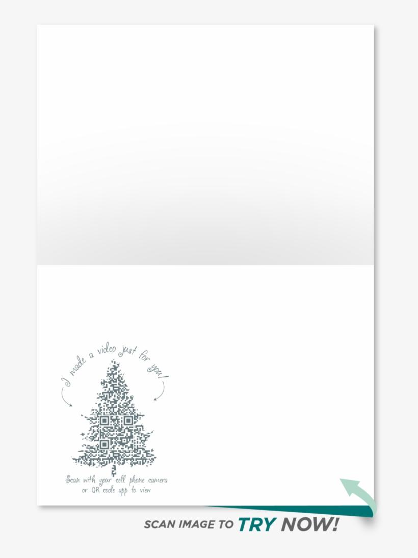 Winter Wonderland Christmas Card Winter Wonderland - Christmas Tree, transparent png #8483255