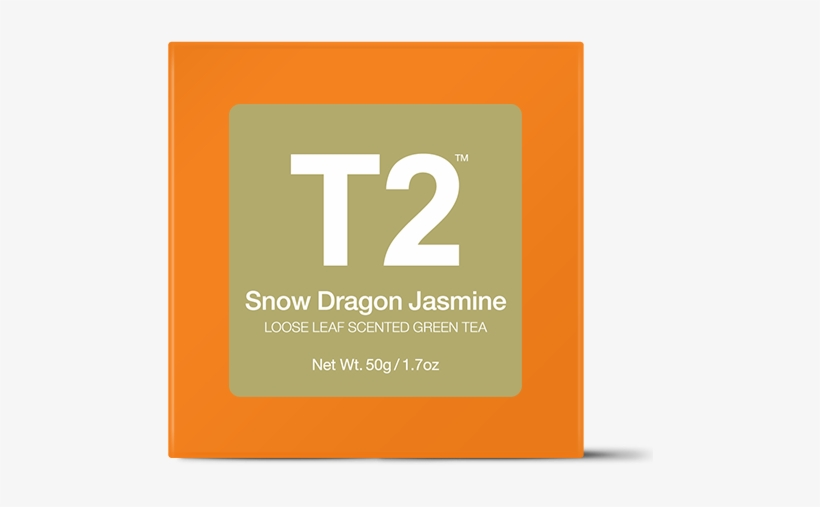 Snow Dragon Jasmine Loose Leaf Gift Cube - T2 Rose Green Tea, transparent png #8484130