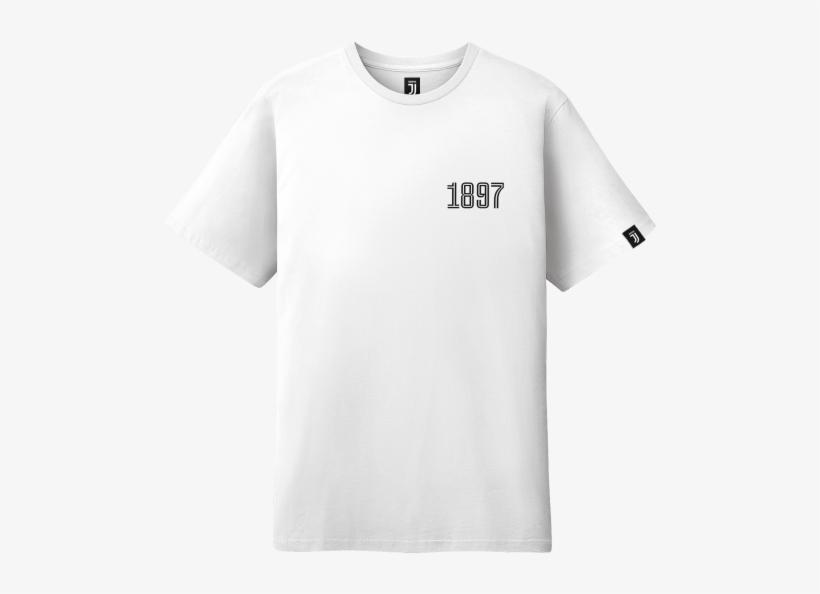 Juventus Mini 1897 T-shirt - White T Shirt Back Side, transparent png #8485728