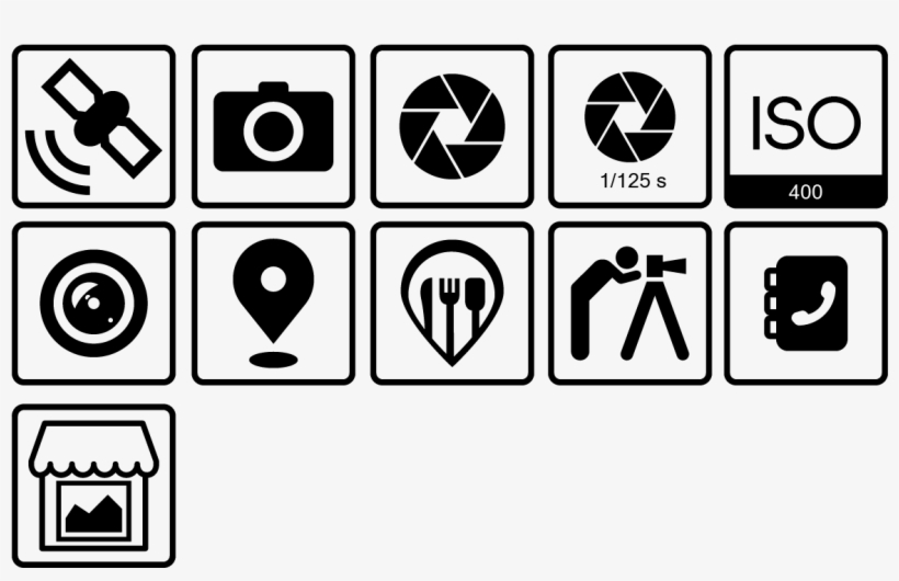 Icon Design By Reha1 For This Project - Camera Shutter, transparent png #8487115