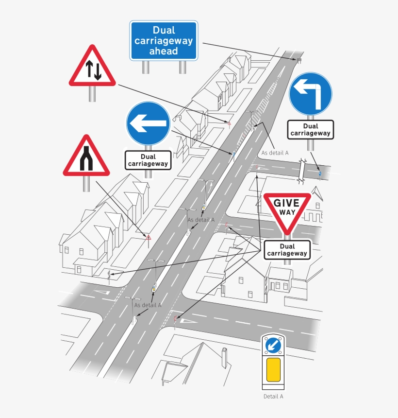 Traffic Signs Manual Chapter 4 Figure 5 1 - Road Signs, transparent png #8491012