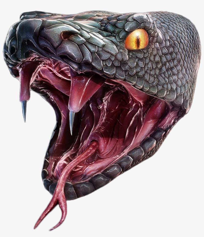 Snake Head Png - Snake Photoshop, transparent png #851383