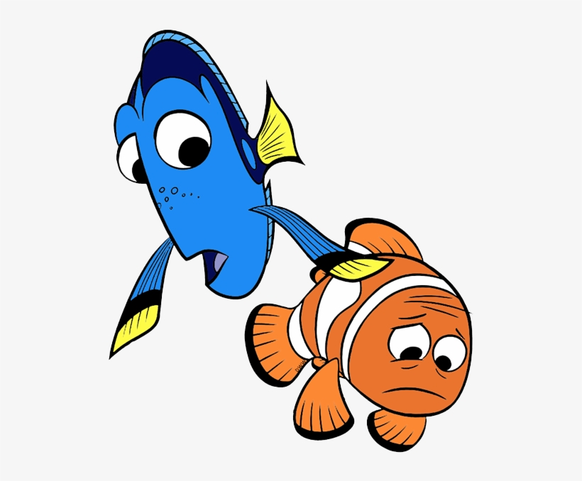 Finding Dory Clip Art - Finding Dory Character Marlin, transparent png #852517