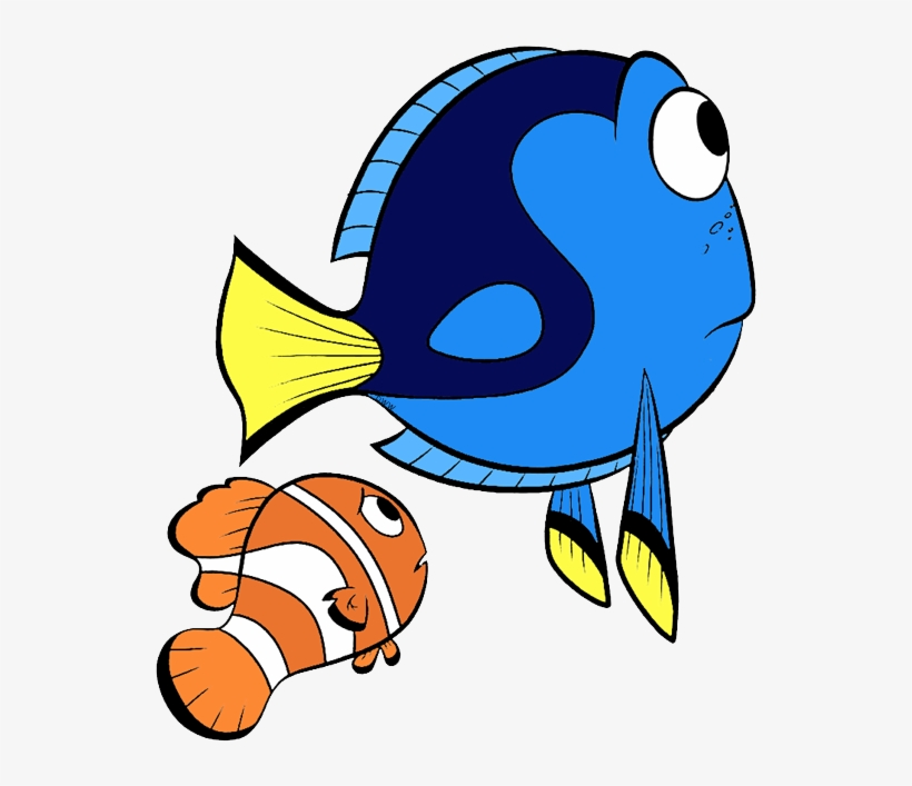 Finding Dory Clip Art - Dory Fish Illustration, transparent png #852540