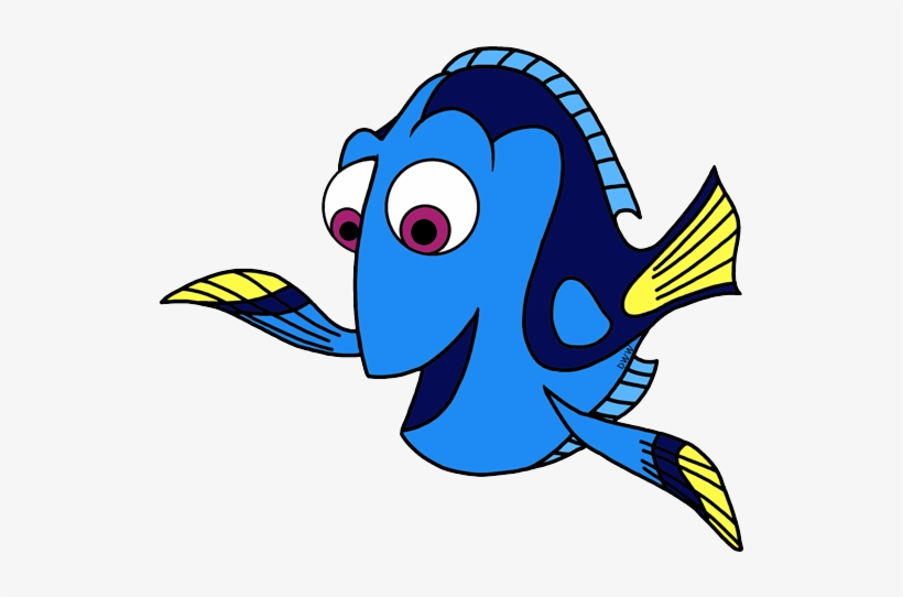 Finding Clip Art Disney Galore - Dory Fish Clipart, transparent png #852598