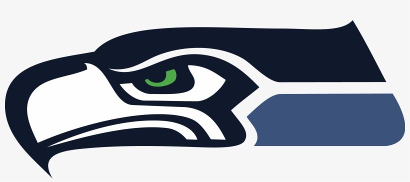 Seahawks Logo Head Window Wall Sticker Car Decal Vinyl - Seahawks Logo Facing Left, transparent png #852674