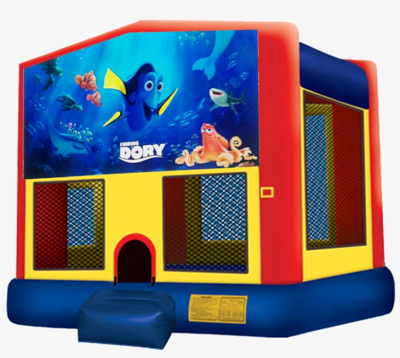 Finding Dory Bounce House Rentals In Austin Texas From - Pj Mask Bounce House, transparent png #853257