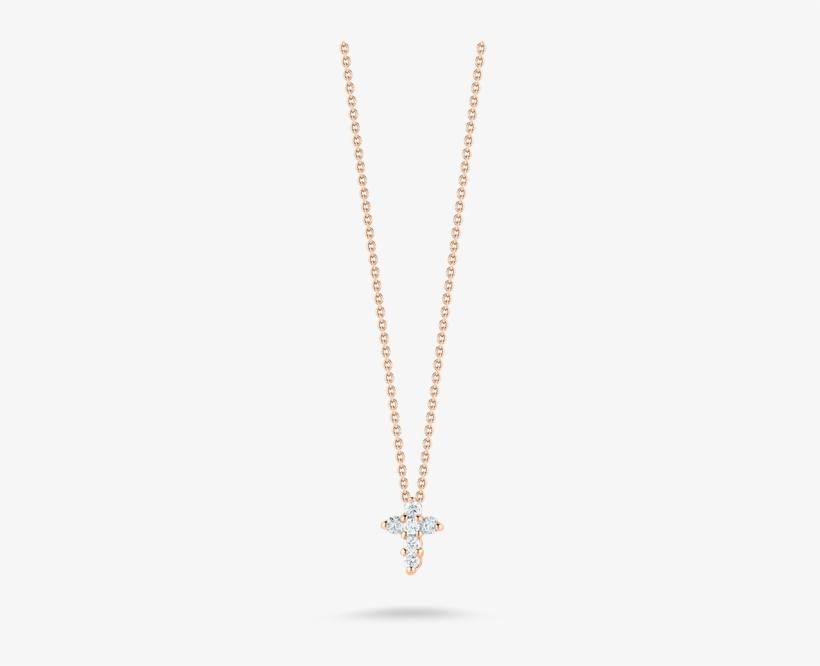 in vendita online dove posso comprare autentico Roberto Coin Baby Cross Pendant With Diamonds - Collane Con ...