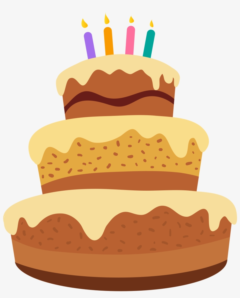 Cartoon Cake Png Happy Birthday Cake Cartoon Free Transparent Png Download Pngkey