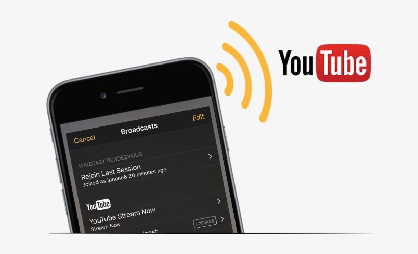 Stream To Youtube Live & Rtmp Servers - Live Streaming Youtube Apk Pro, transparent png #855019