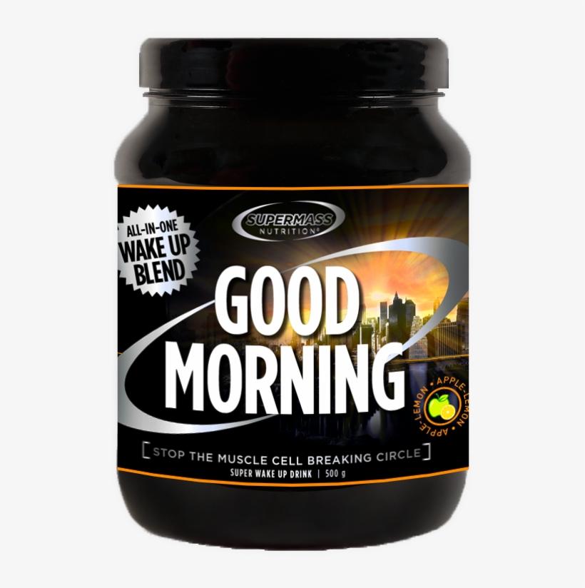 Good Morning Supermass Purkkikuva Taustaton - Good Morning, 500 G, transparent png #855855