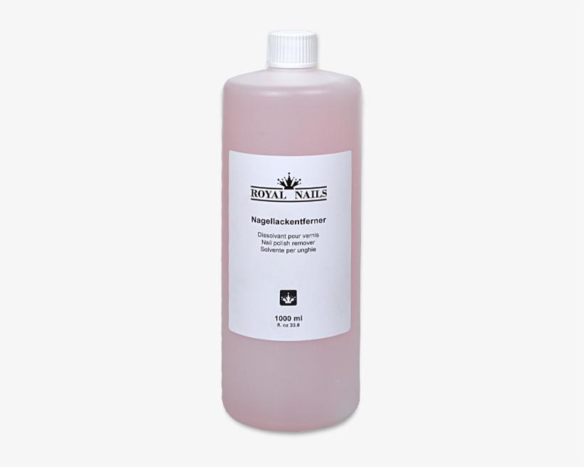 Royal Nails Liquids - Nail Polish Remover 1000ml, transparent png #856420