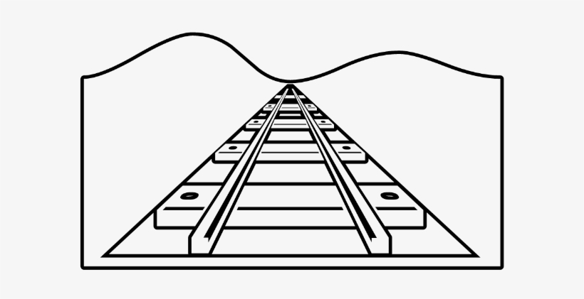 railroad tracks coloring pages | Tracks - Train Tracks Coloring Pages - Free Transparent ...