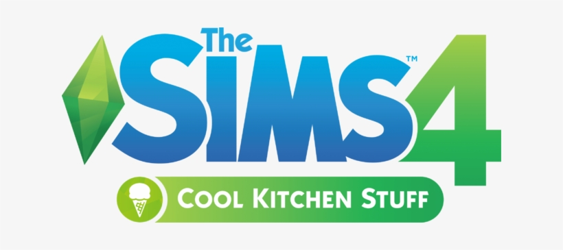 The Sims 4 Cool Kitchen Stuff Logo - Electronic Arts The Sim 4 City Living, transparent png #857345