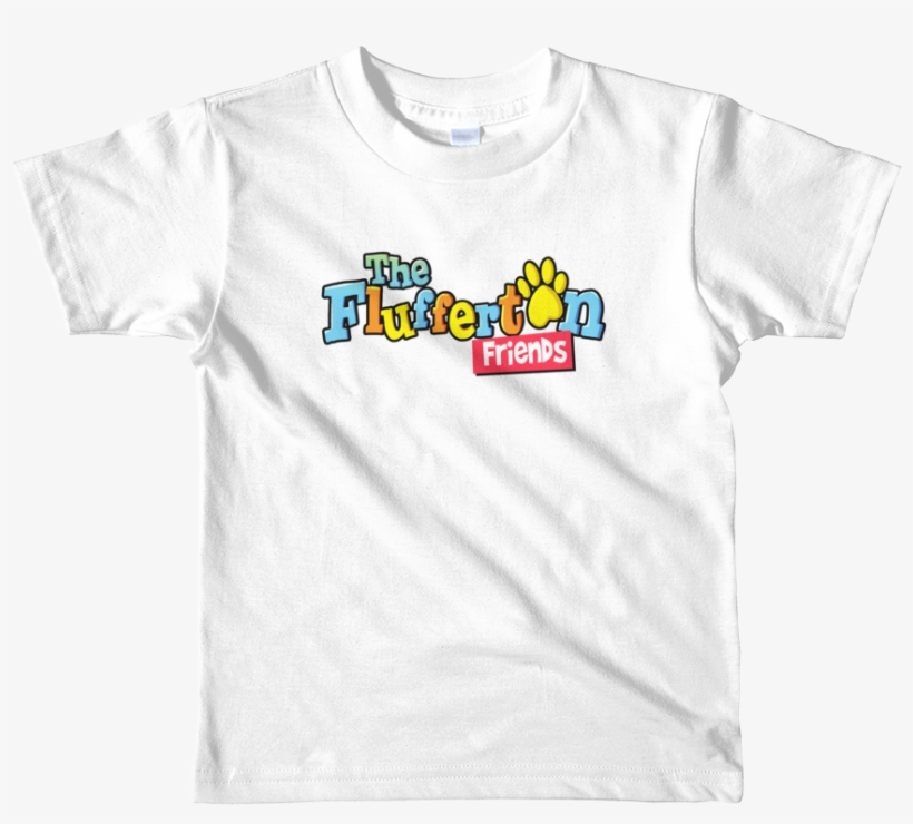 """flufferton Friends"" Logo Short Sleeve Kids T-shirt - Unicorn Squad Shirt, transparent png #858669"