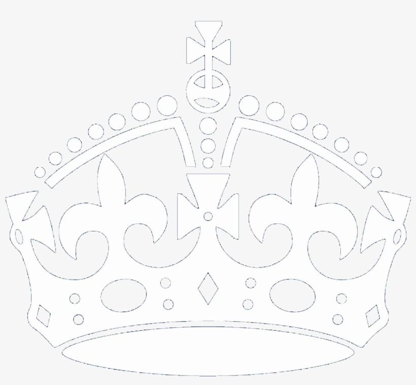 Keep Calm - Crown Keep Calm Vector, transparent png #859112