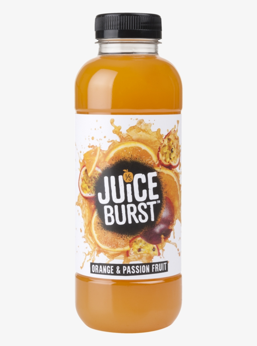 Orange & - Juice Burst Orange And Passion Fruit 500ml, transparent png #859886