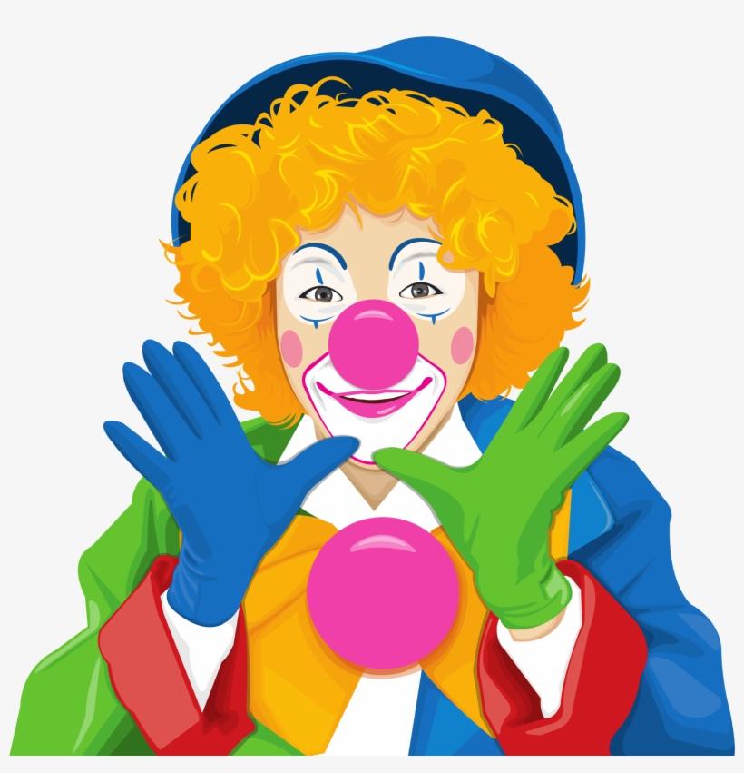 Evil-doer - Clown Vector, transparent png #8508781