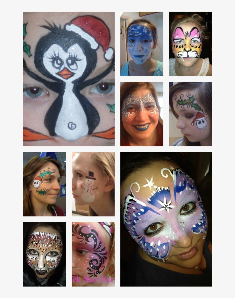 Totally Random Face Painting - Colchester Zoo Face Painting, transparent png #8511058