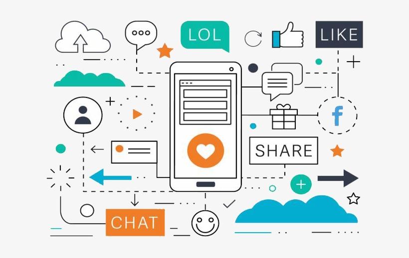 Social Media Marketing - Vectores Social Media Marketing, transparent png #8515141