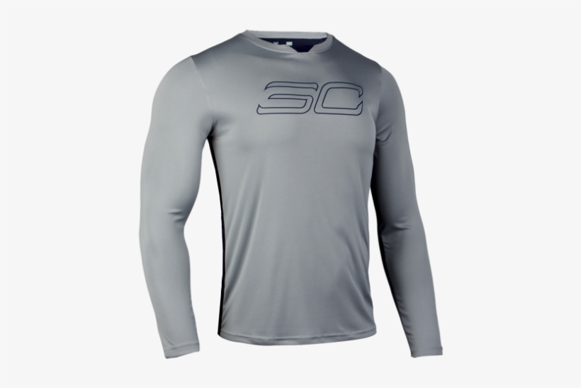 New Under Armour Sc30 Hypersonic Shooting Shirt Steph - Long-sleeved T-shirt, transparent png #8515532