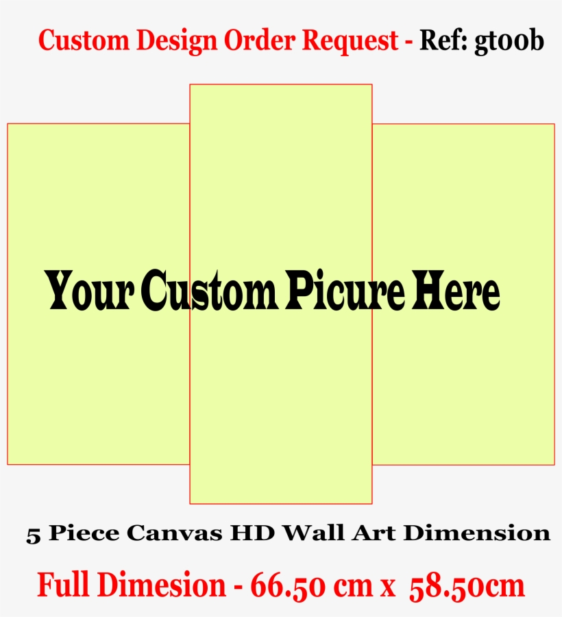 Customized 3 Pc Canvas Wall Frame - Australian Customs Service, transparent png #8519124