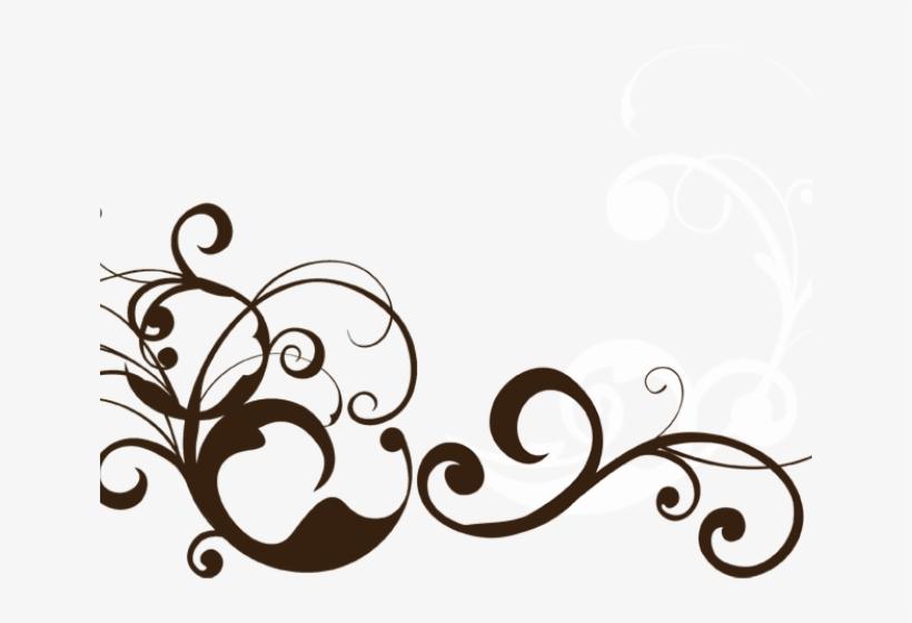 Black Swirl Clip Art - Curvy Swirl Png - 288x597 PNG Download - PNGkit