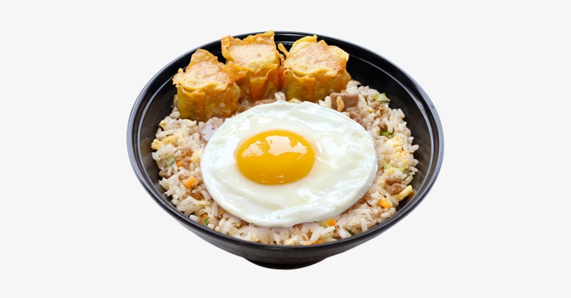 Here's Why You Should Eat Like A King In The Morning - Fried Siomai With Rice And Egg, transparent png #8520717