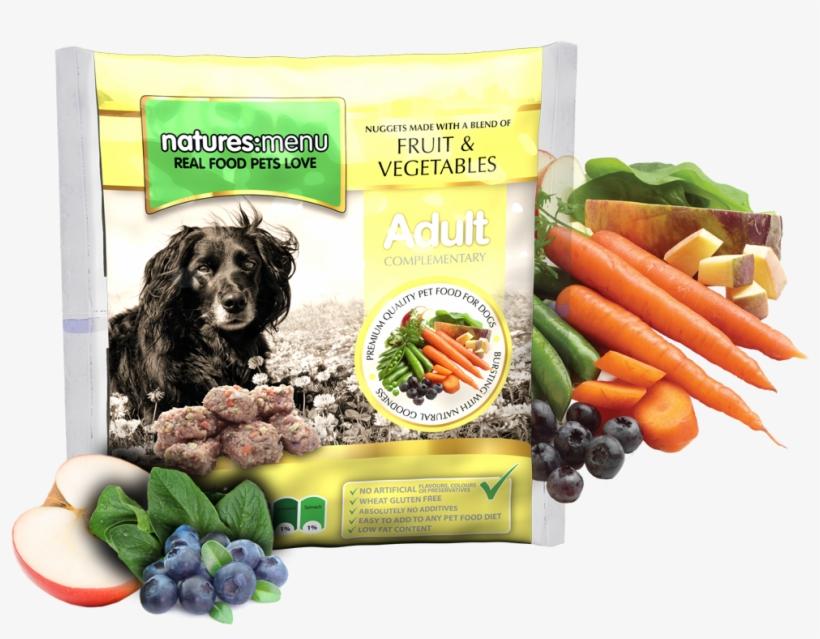 Blended Fruit And Vegetable Nuggets - Natures Menu Fruit And Veg Nuggets, transparent png #8526161