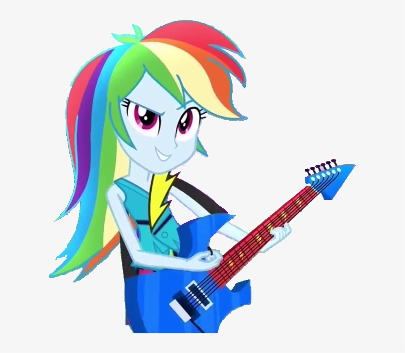 Rainbow Dash Equestria Girl Rainbow Rocks, transparent png #8531854