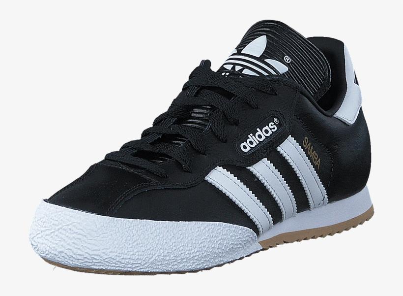 Adidas Originals Samba Super Black/running White Ftw - Mens Adidas Samba Trainers, transparent png #8536369