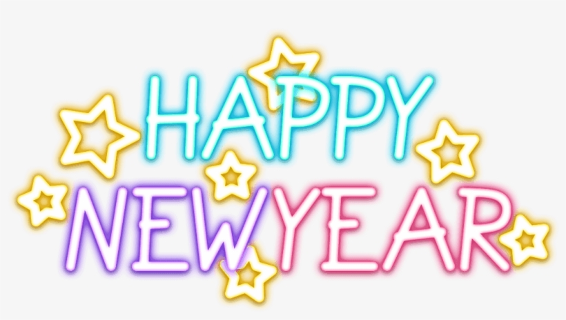 Happy New Year 2019 Stickers For Whatsapp, Facebook, - Whatsapp Happy New Year 2019 Sticker, transparent png #8542983