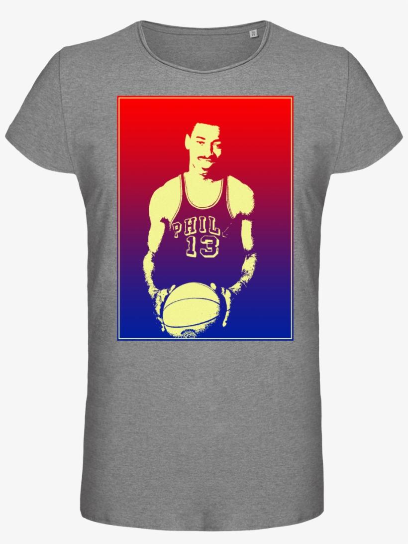 T-shirt Homme - Wilt Chamberlain - Basketball Player - Basketball Player, transparent png #8544889
