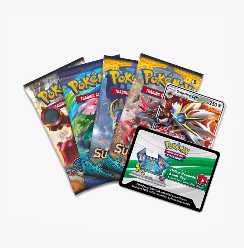 More Images Pokemon Legends Of Alola Tin Lunala Gx Free