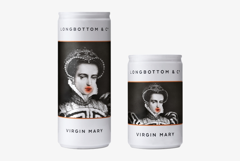 Virgin Mary Cans - Caffeinated Drink, transparent png #8560436