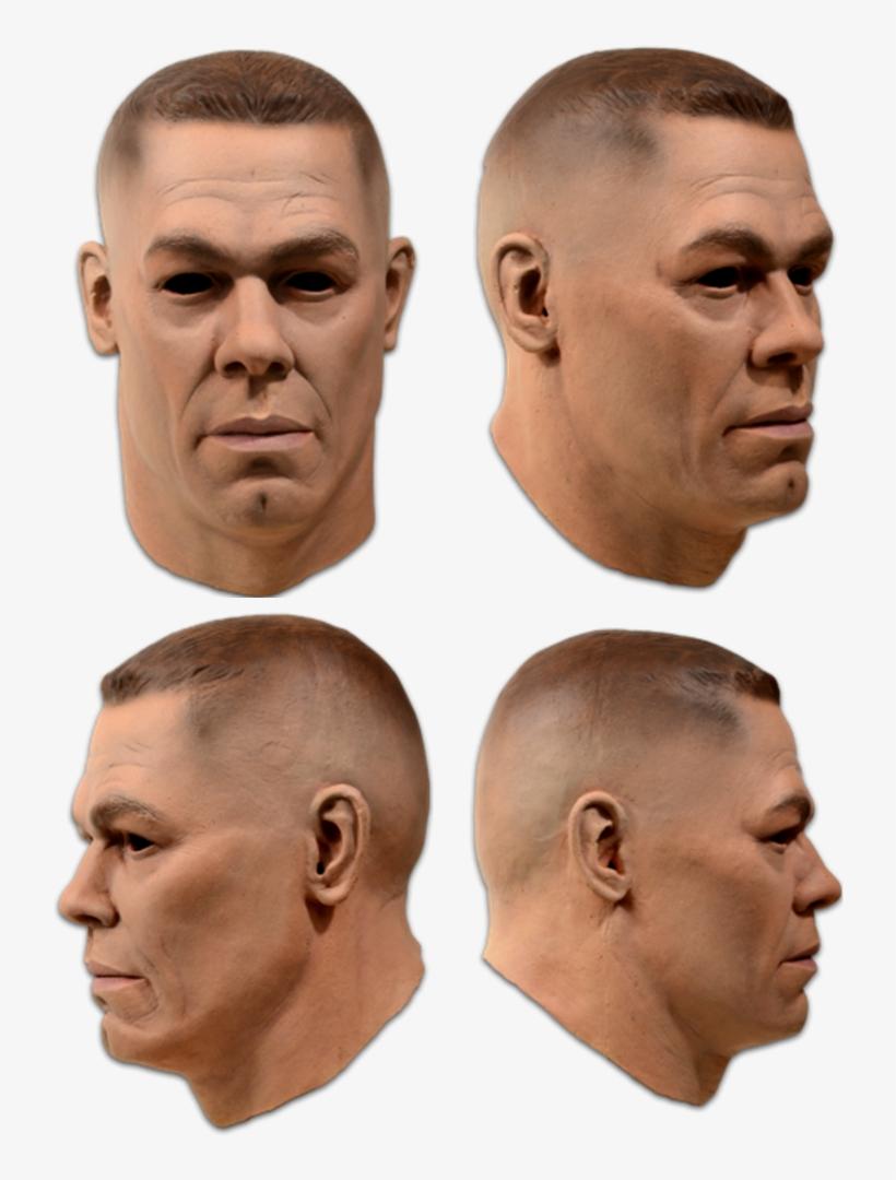 Карнавальная Маска John Cena Wwe World Wrestling Wrestler - John Cena Wwe Mask, transparent png #8576782
