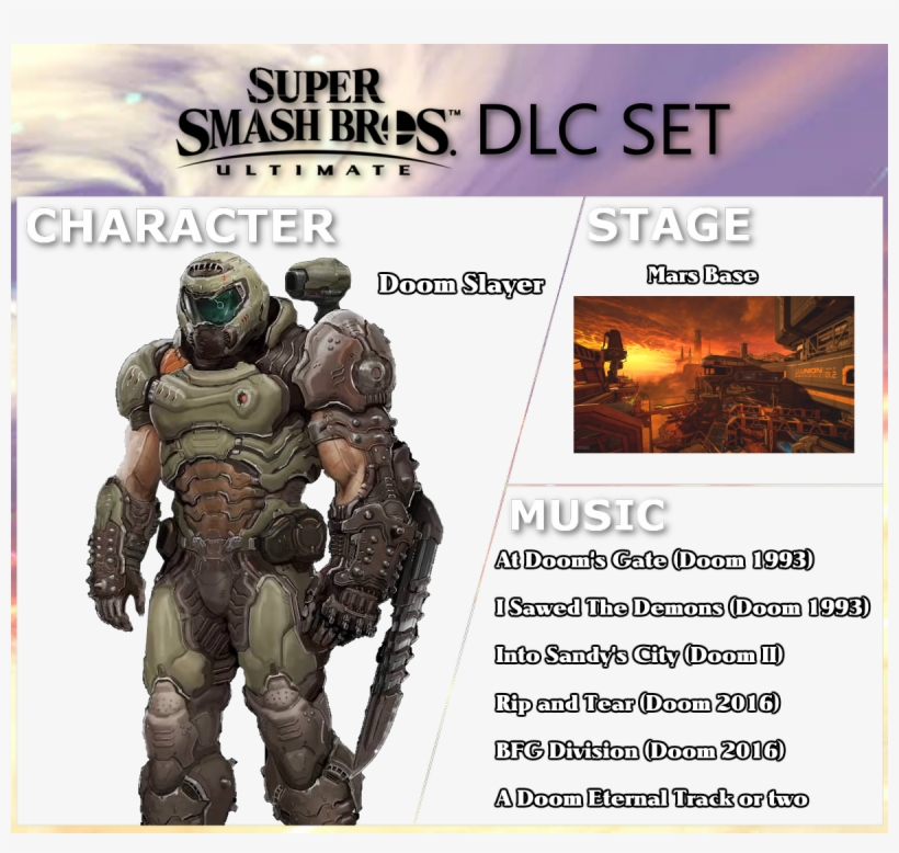 He D Also Have Alternate Costumes For Doom 2016 And Doom Eternal