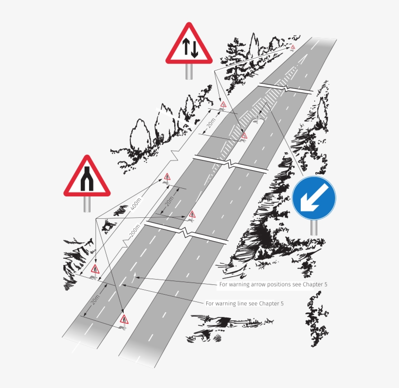 Traffic Signs Manual Chapter 4 Figure 5 2 - British Road Signs, transparent png #8583729