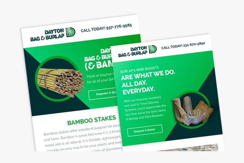 Our Dayton Bag Burlap Projects