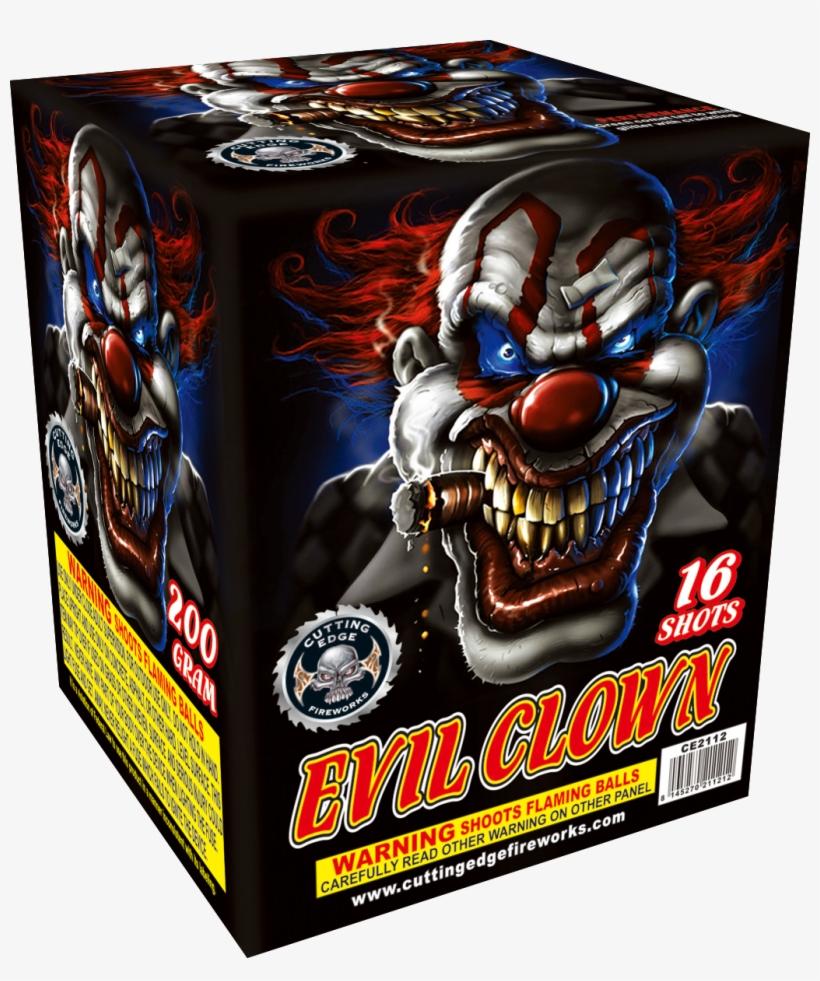 Evil Clown - Evil Clown Firework, transparent png #8589389