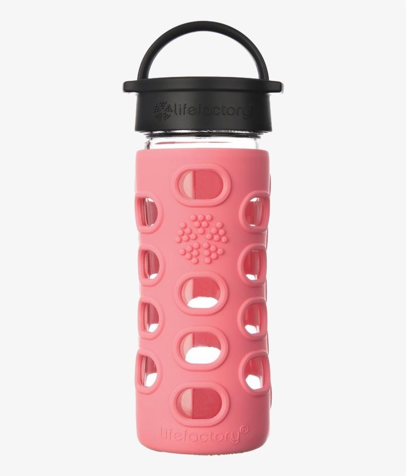 Water Bottle - Lifefactory Water Bottle 12 Oz, transparent png #8592662