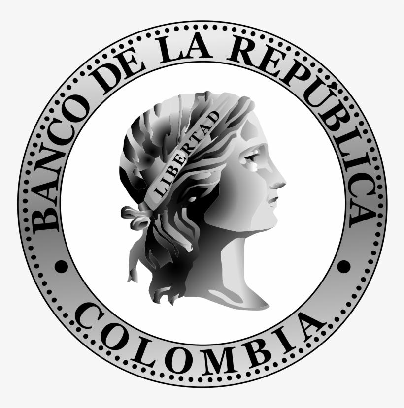 Banco De La Rep&250blica Colombia Logosvg - Imagenes Del Banco De La Republica, transparent png #8595488