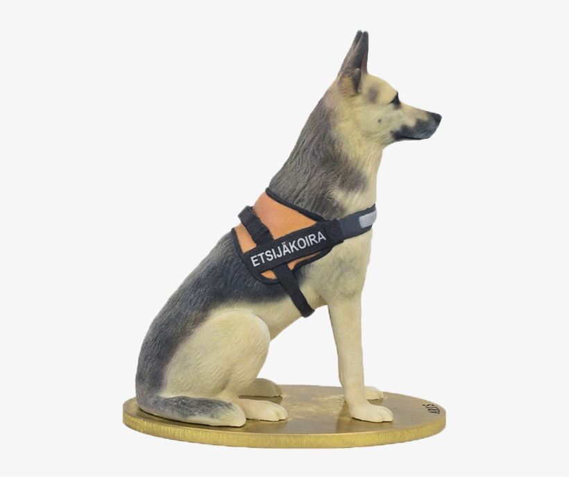 They Are 3d Printed In Full Colour Sandstone - 3d Printed German Shepherd, transparent png #8596734