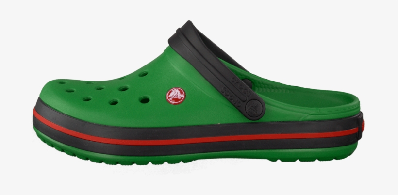 1834d5e7e73 Köp Crocs Crocband Kelly Green/black Grön Skor Online - Slip-on Shoe ...