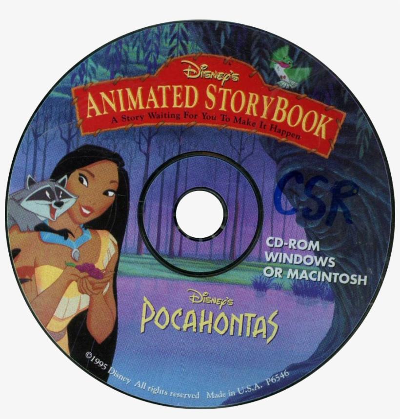 Disney's Animated Storybook - Disney Animated Storybook Pocahontas [pc/mac Game], transparent png #861259