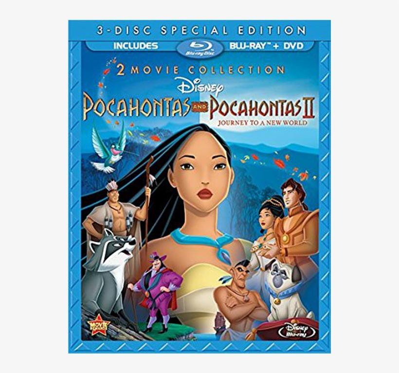Pocahontas 1&2 - Pocahontas 2 Movie Collection Blu Ray, transparent png #861326