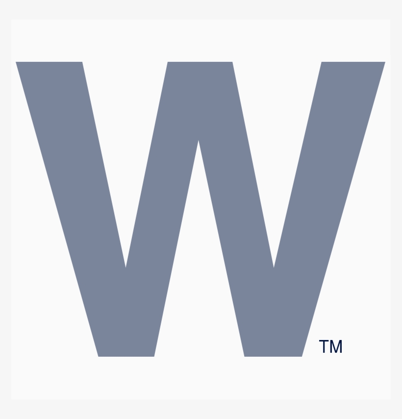 graphic about Printable Chicago Cubs Logo known as The Cubs, Db - Fly The W Flag Printable - Free of charge Clear