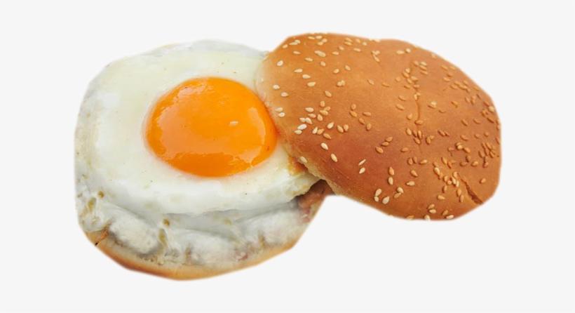 Fried Egg Burger Png, transparent png #861949