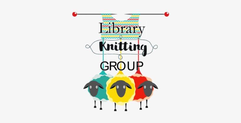 "Library Knitting Group, Fiber Arts - Society6 Knitting Sheep Throw Blanket - 51"" X 60"", transparent png #863967"